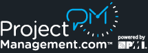 Project Mgmt Logo RGB poweredbyPMI white on black